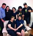 Com a Familia do Pastor Luis